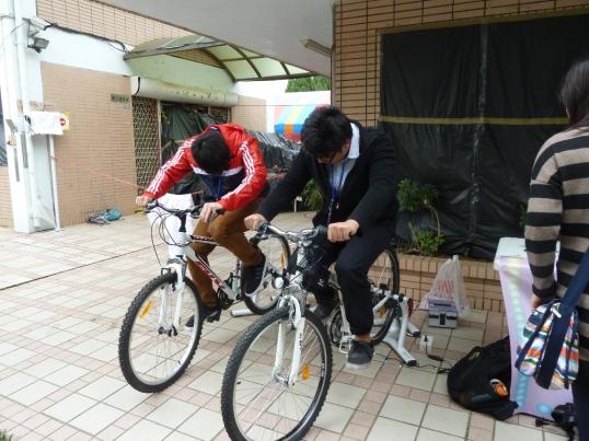 4:28立凱腳踏車發電